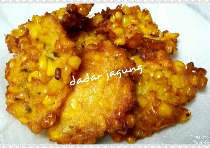 Dadar jagung/perkedel jagung