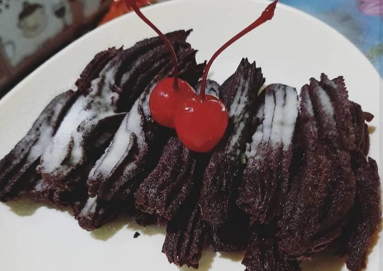 Churros coklat
