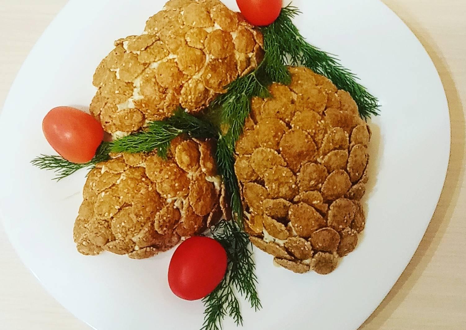 можно салат лесные шишки рецепт с фото более пяти столетий