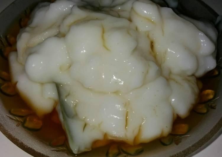 Bubur sum-sum lembut
