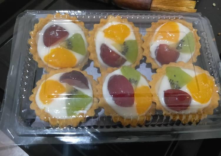 Resep Pie buah mini Paling Enak