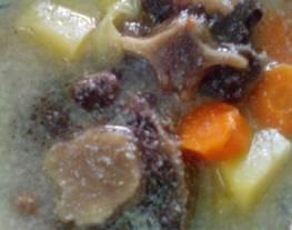 Sop susu buntut sapi (sop betawi)