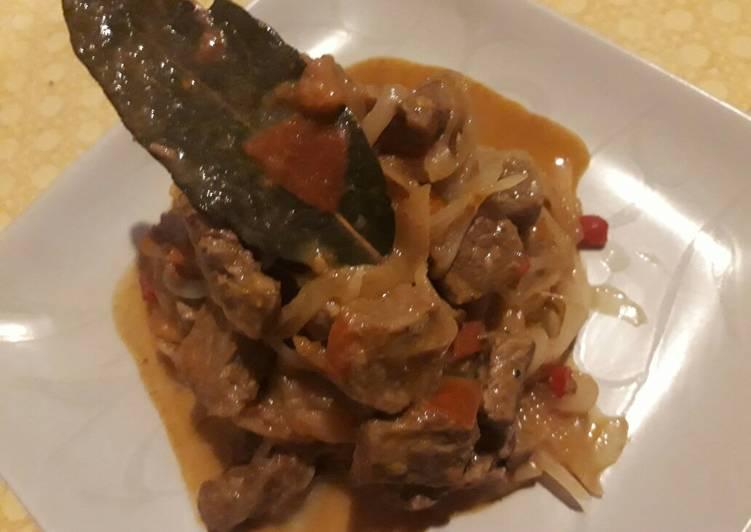 Salpicón de carne (peruano)