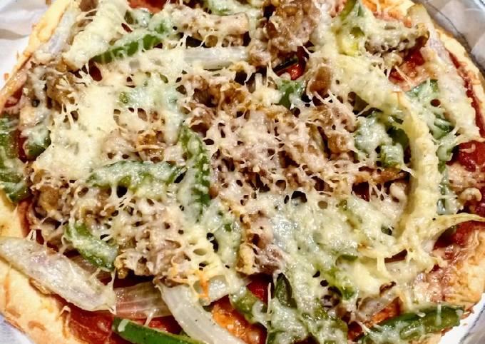 Thin-Crust Pizza #Keto