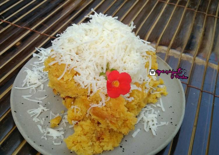 Resep Bolu Tape Kukus Toping Keju