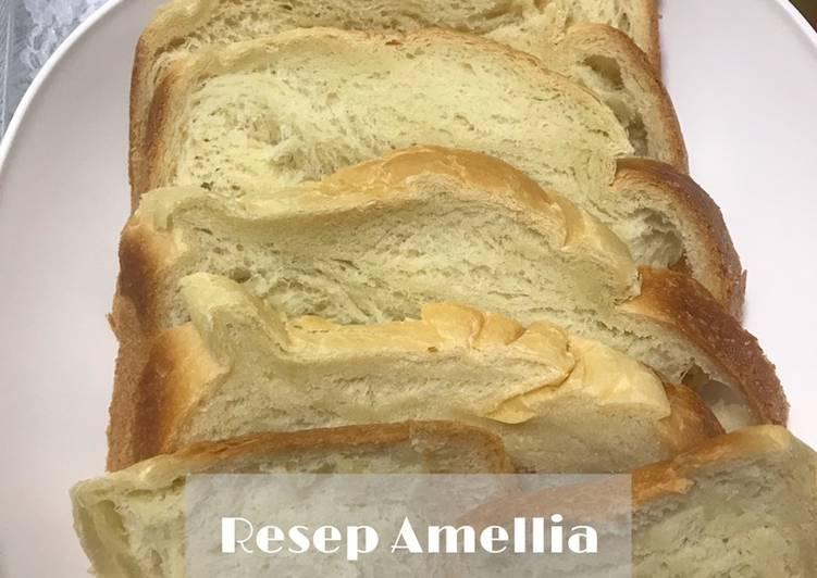 Resep Roti tawar simpel (bread maker) Paling dicari