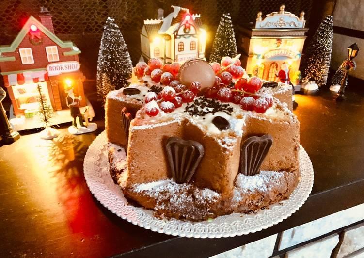 Stella di Natale con il Pandoro al Tiramisù