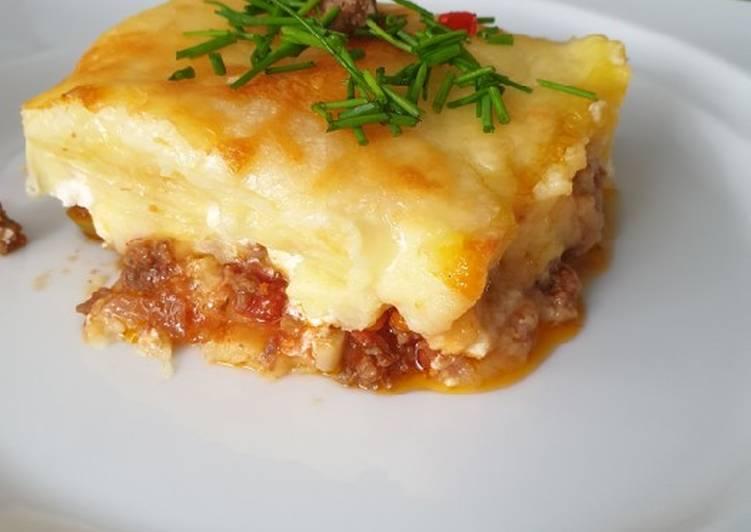 Kartoffelpüree-Hackfleisch-Auflauf – Delish Cookbooks
