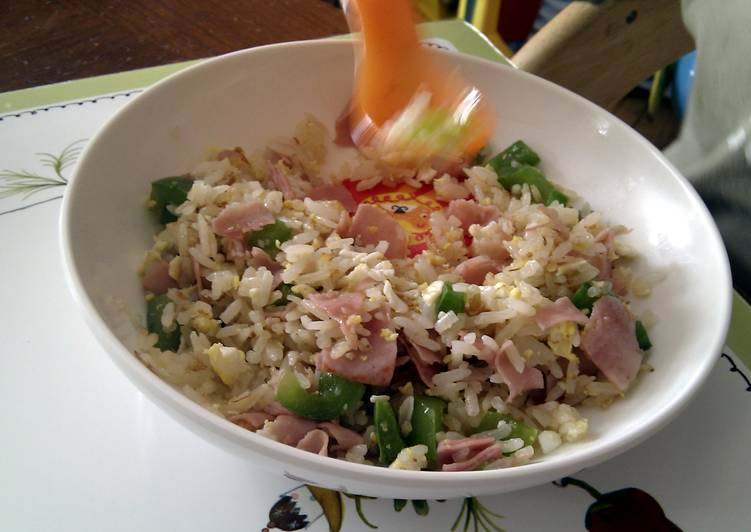 Recipe of Award-winning Quick and easy fried rice