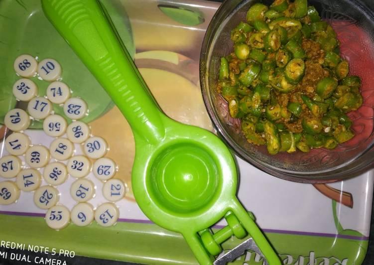 Simple Way to Make Any-night-of-the-week Chopped green chilli achari