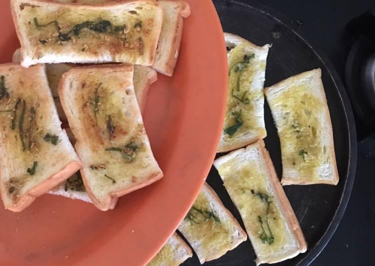 Roti panggang bawang putih