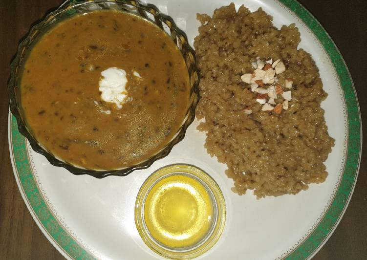 25 Minute How to Prepare Autumn Dal makhani with lapsi