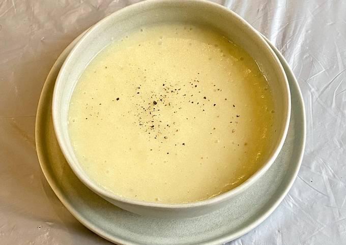 Potato and marrow soup