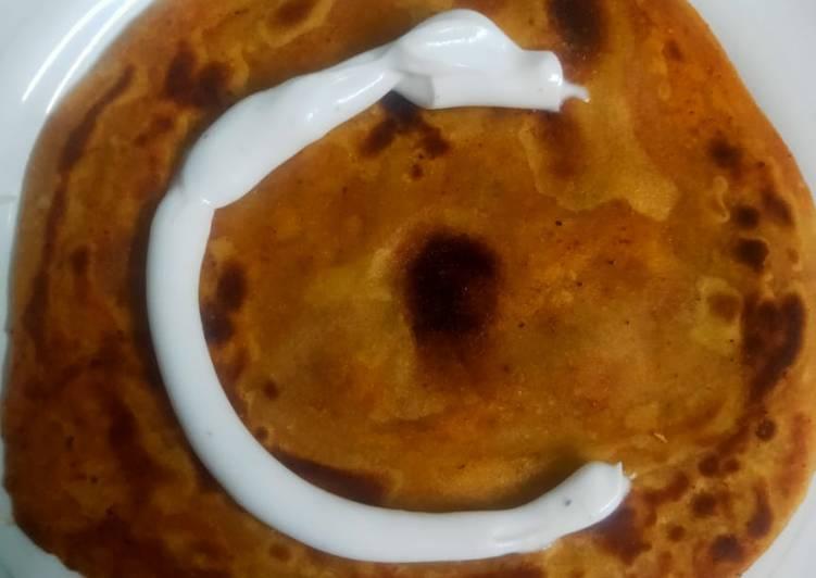 Recipe of Quick Mayonnaise roti