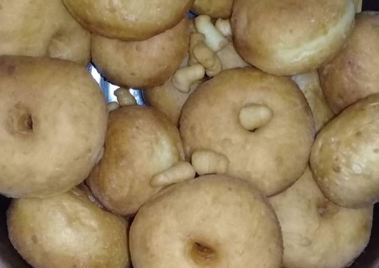 Donat menul metode Sponge and Dough