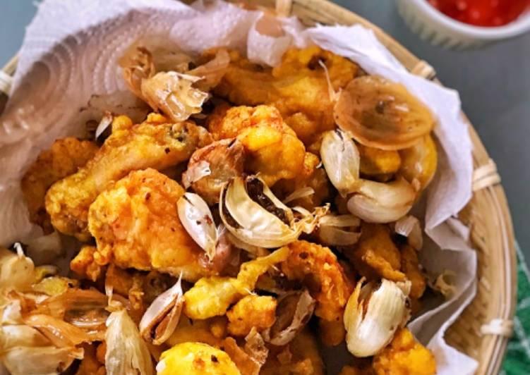 Ayam goreng bawang putih ala batam
