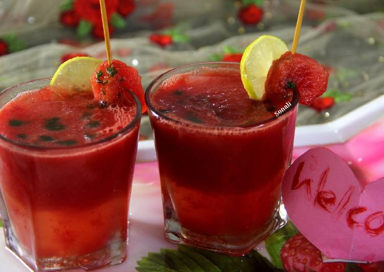 Watermelon Honeyto Punch