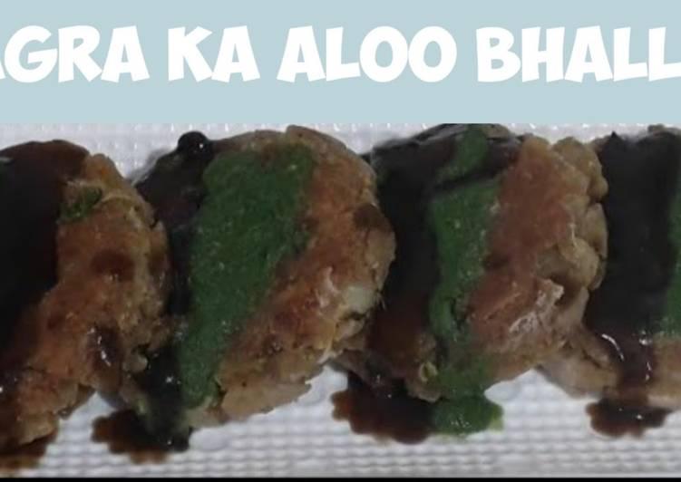 Agra ka Famous Street Food Aloo Bhalla Recipe