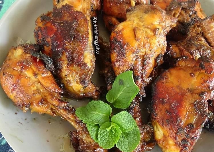 Ayam bakar empuk meresap