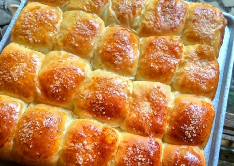 Roti sobek metode autolysis