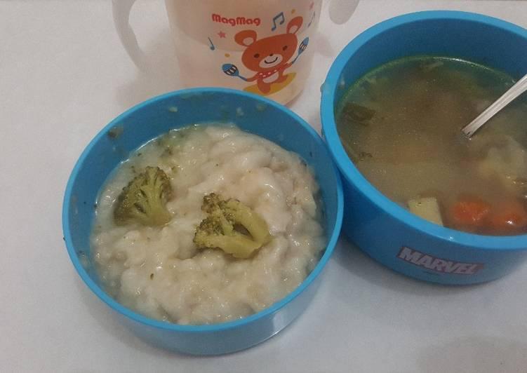 Resep Sop brokoli dan oats slow cooker 1y Terbaik