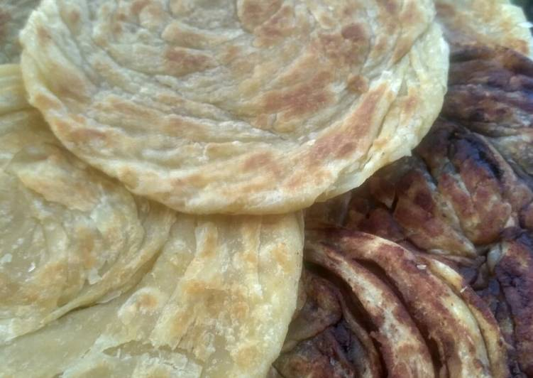 Cara Memasak Roti maryam anti gagal