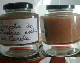 Compota de manzana asada con canela (sin gluten)