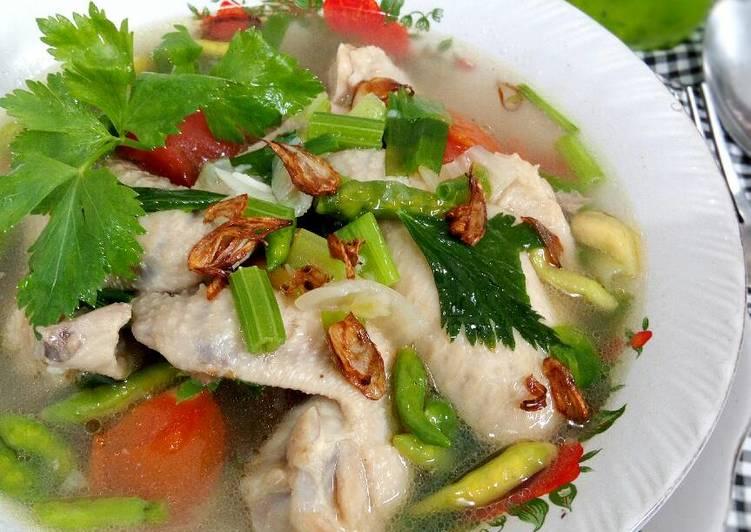 Sop Ayam Janda