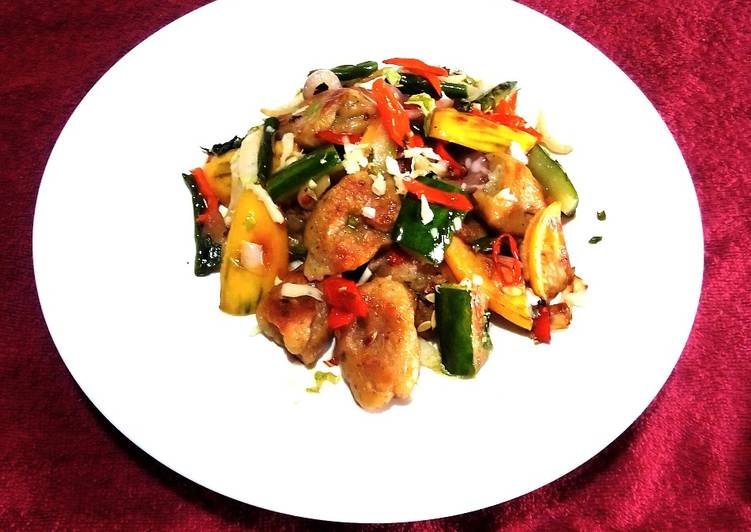 Recipe of Award-winning Stir Fried Veggies with Gnocchi