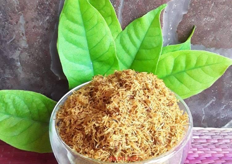 Serundeng Kelapa (Saur Kelapa) - cookandrecipe.com