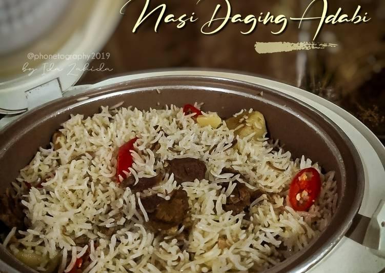 Nasi Daging Adabi - resepipouler.com