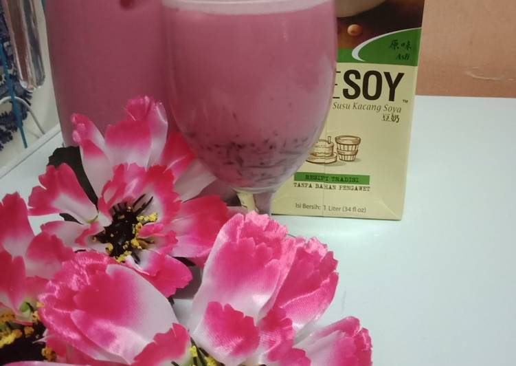 Air Soya Seindah Sakura - resepipouler.com