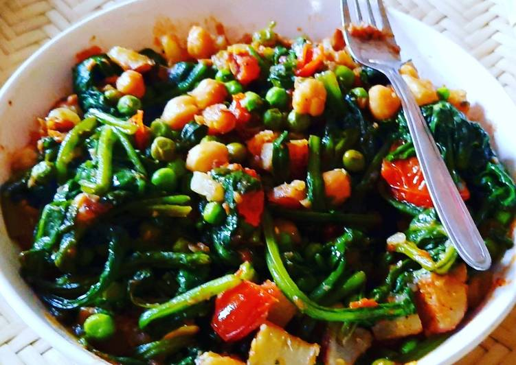 Easiest Way to Make Award-winning Mixed vegetables curry