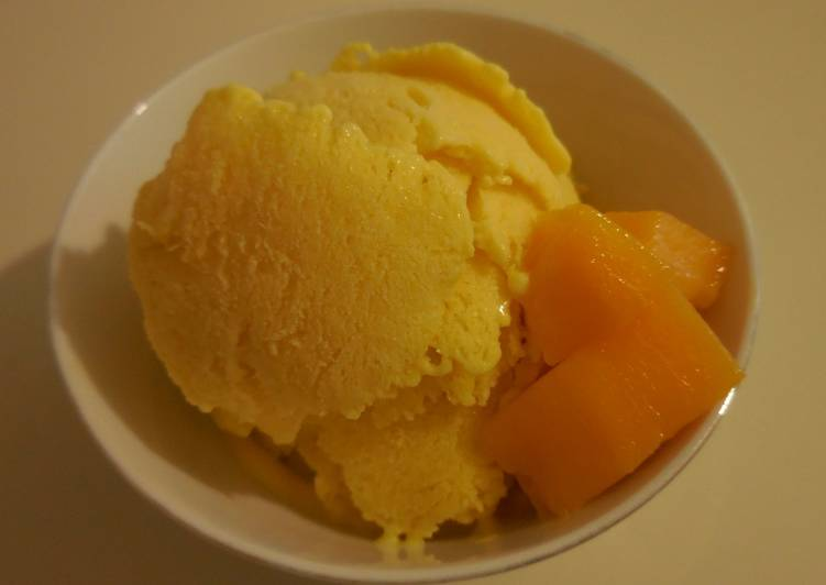 Mango Ice-cream - only 3 ingredients