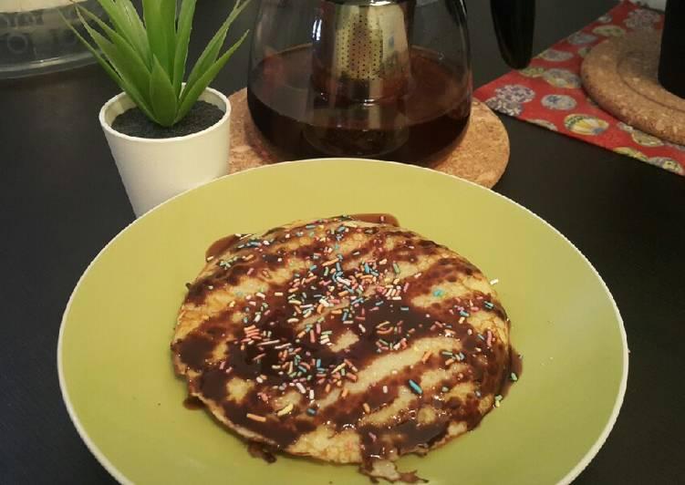 Resep Pancake cemilan anak Bikin Jadi Laper