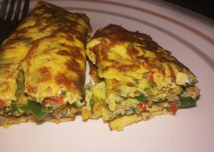 Recipe of Ultimate Perfect Omelette egg roll