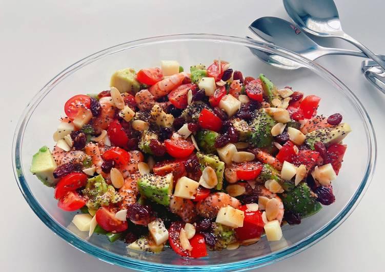 Recette: Salade composée