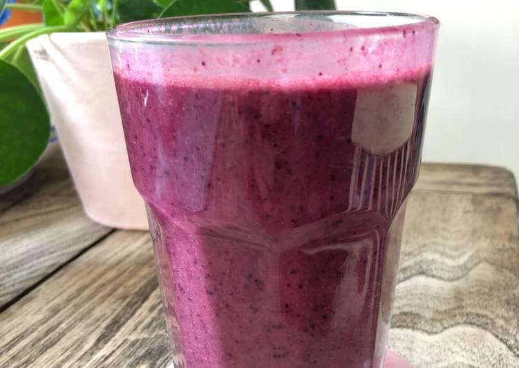 Berry smoothie - vegan