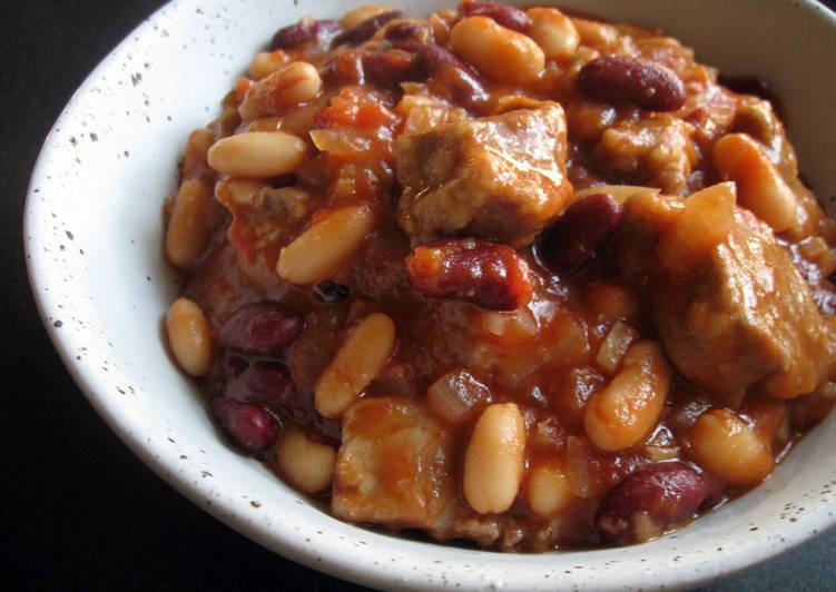 Recipe of Award-winning Pork & Beans