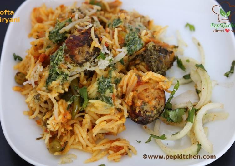 Recipe of Super Quick Homemade Kofta Biryani