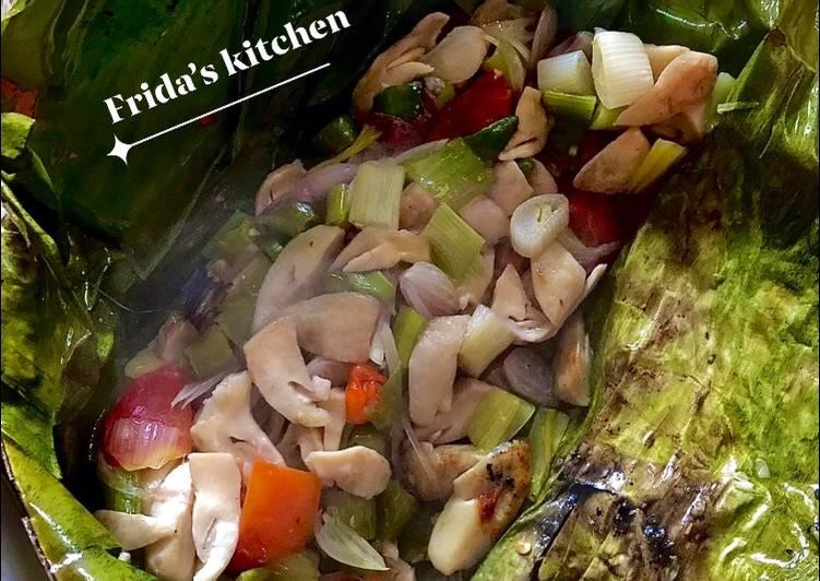 Recipe: Delicious Pepes jamur