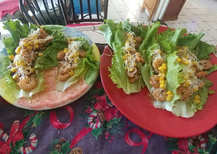 How to Cook Appetizing Shrimp Lettuce Tacos