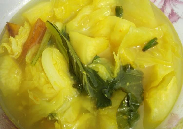Sayur asam khas kalimantan (non ikan)