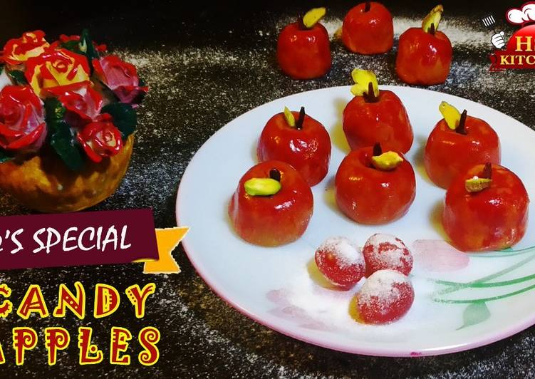 How to Make Super Quick Homemade Candy apples