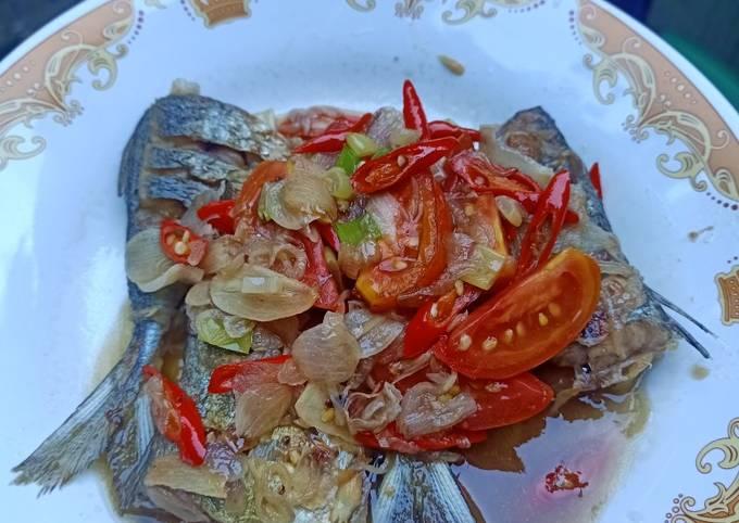 Ikan kembung masak simple