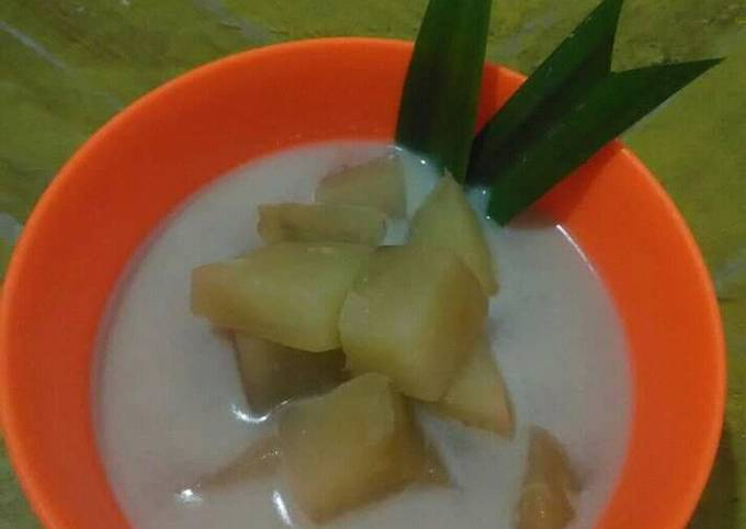 Kolak Ubi (Sweet potato Soup)