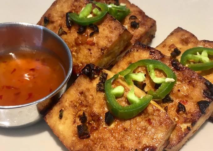 Chilli & Tamari Baked Tofu 🌶