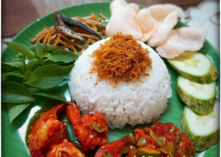 Nasi Ulam (ricecooker) #pr_BukanNasiBiasa