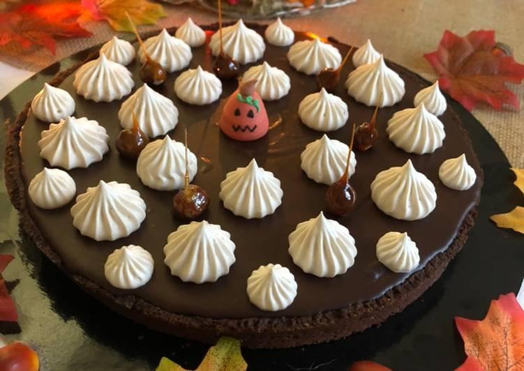 Comment Préparer Des Tarte au chocolat Halloween 🎃