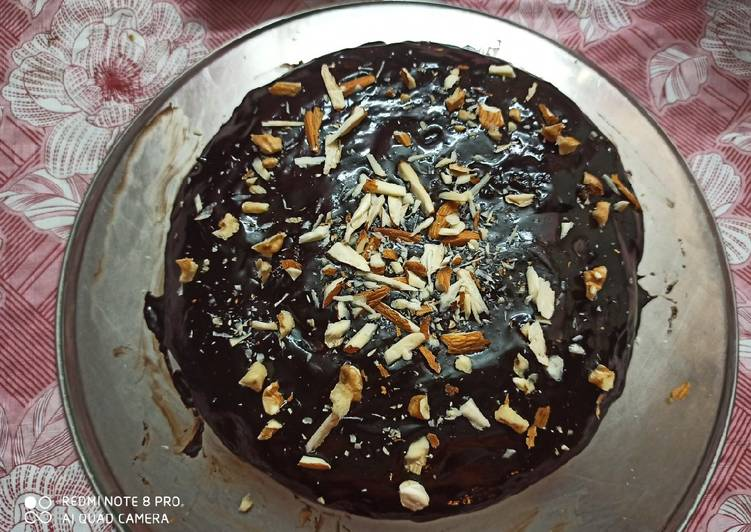 Easiest Way to Cook Appetizing Chocolate almond cake